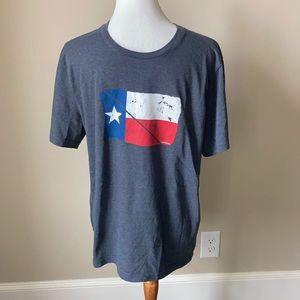 Untuck It Texas flag tshirt